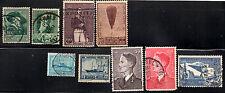 stamps Belgium A65 A66 A67 A75 A92(2) A110(2) A123 Lot