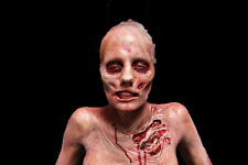 Hanging Gory Female Torso - The Walking Dead - Haunted Halloween Prop - Corpse