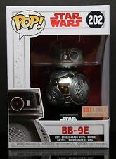 Star Wars BB-9E Chrome Boxlunch Exclusive FUNKO Pop Vinyl Bobble-Head Figure
