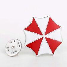 Corporación Umbrella Resident Evil Logo Insignia Pin Esmalte 25mm