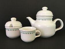 Waechtersbach Germany KATJA Teapot / Coffeepot, Sugar & Creamer - Trees Design