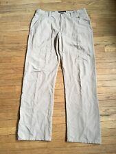 Oakley Beige Nylon Pants Mens 38W 34L
