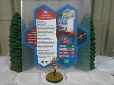 Heroscape Custom Stargirl Double Sided Card & Figure w/ Sleeve DC