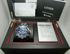 Mens Citizen Limited Edition Atomic Perpetual Eco Drive Watch - AT4025-01E