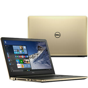 DELL INSPIRON 17 17.3in gaming LAPTOP 2.5Ghz 8GB 1TB Backlit DVDRW Win 10 Gold