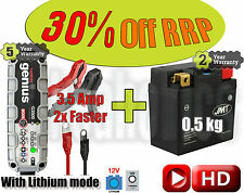 Lithium Deal - Battery + 3.5Amp charger - KTM SX-F 450 ie 2016