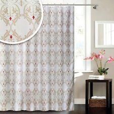 Blue Canyon Damask Shower Curtain 180cm x 180cm