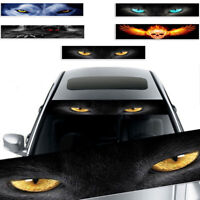3D Sunshade Terror Decor Sticker Decal Fit For Car Suv Front Rear Windshield