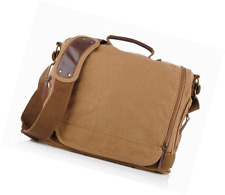 sulandy@ New Men Canvas Shoulder Bag Messenger Bag School Bag purse