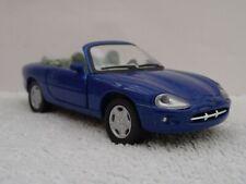 1/43 Diecast Model Car - JAGUAR XK8 Convertible. Blue. Boxed. Cararama.