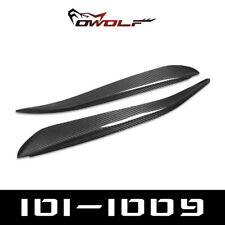 Real Carbon Fiber Eyebrows Eyelids for Mazda 3 Axela 5DR Hatchback  2004-2009