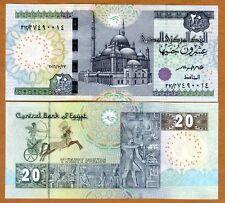 Egypt, 20 Pounds, 2016, P-New, UNC