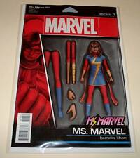 Ms. MARVEL # 1 Marvel Comic Jan 2016 NM ACTION FIGURE VARIANT COVER EDITION