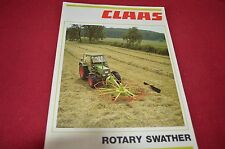 Claas Rotary Swathers Dealers Brochure 189.218.6 LCOH