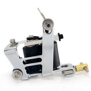 IMPULSE Dual Tattoo Machine 8 wrap LINER & SHADER Equipment Supply ink