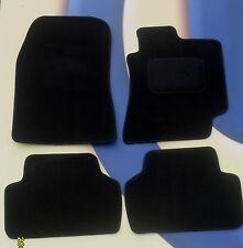 Honda Civic Saloon & Tipo R 01 - 06 3 Puertas Modelo del Coche Tapetes de Terciopelo Negro