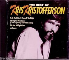 KRIS KRISTOFFERSON Best Classic 70s Country Greatest Anthology Me Bobby McGee