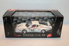 BRUMM R211 Ferrari 512 BB 1981 Scuderia ROSSO @ Le Mans 24 Hours 1/43 model car