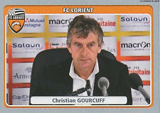 N°204 CHRISTIAN GOURCUFF # FC.LORIENT VIGNETTE STICKER  PANINI FOOT 2012