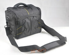 photo D/SLR CAMERA BAG Case handy black Covers for Nikon camera and two lenses