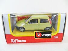 BURAGO 4144 'FIAT PUNTO' GOLD. 1:43. MIB/BOXED. VINTAGE