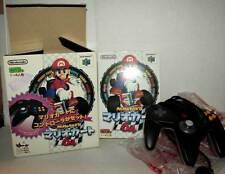 MARIO KART 64 CONTROLLER SET USATO BUONO NINTENDO 64 N64 JAPAN NTSC/J VBC 50638