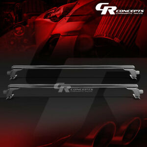 "48"" BLACK BILLET ROOF RACK VAN/CAR/SUV TOP CROSSBAR LUGGAGE/BAG CARGO AERO RAIL"