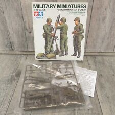 TAMIYA - 1:35 - Military Miniatures US 107mm Mortar +Crew - OVP - #AM46122