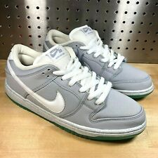 "Nike SB Dunk Low Premium ""Marty McFly"" Wolf Gray 313170 022 air mag BTTF Sz 9"