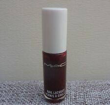 1x MAC Nail Lacquer Nail Polish, #Cream Vintage Vamp, Travel Size, Brand NEW!