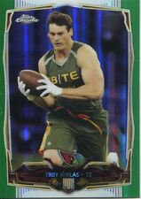 Chrome Football 2014 VERDE REFRATTORE CARD #182 Troy NIKLAS-Arizona Cardinals