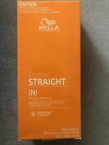 WELLA WELLASTRATE Permanent Straight System Hair Straightening Cream INTENSE