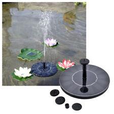 Solar Wasserspiel Teichpumpe Solar Pumpe Fontäne Gartenteich Springbrunnen Pumpe