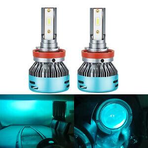 2Pcs H11 LED Headlight Bulbs Conversion Kit Super Bright CSP 3570 Fog Light Lamp