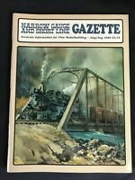 Narrow Gauge and Short Line Gazette July August 1989