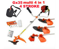 Gx35 brush cutter 4 in 1 lawn mower outdoor garden tool pruner hedge trimmer saw