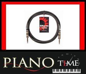 Dimarzio 18 Foot Guitar Instrument Noiseless Cable Lead Black EP1718B 18Ft 18'