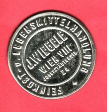 (pgasteelers1) Austria encased postage Stamp 20 Heller J. Wiegele