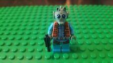 Lego Star Wars Greedo Minifigure w/ Blaster Pistol - Set 75052