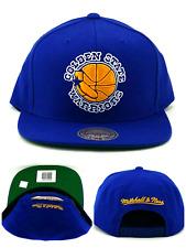 8f950b20043b6 Golden State Warriors New Mitchell   Ness Vintage Blue Gold Era Snapback  Hat Cap