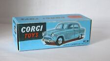 Repro Box Corgi Nr.201 Austin Cambridge Saloo blaue Box