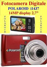 "FOTOCAMERA / VIDEOCAMERA  DIGITALE  POLAROID 14 MP i1437 DISPLAY 2,7"" -"