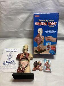 Fascinating Facts Human Body Game Lakeshore Quiz Cards & Take Apart Model K3