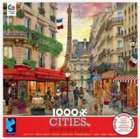 PARIS FRANCE - 1000 PIECE JIGSAW PUZZLE - BRAND NEW 3166-1