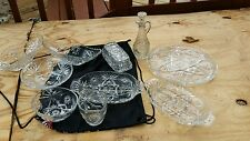glass etched serving trays