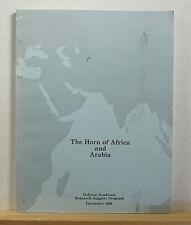 The Horn of Africa and Arabia 1990 Politics Military Yemen Ethiopia Somalia