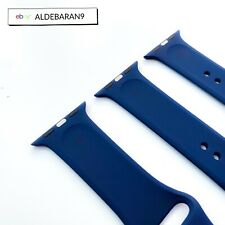 Genuine MIDNIGHT BLUE Apple Watch Sport Band 42mm 44mm Authentic