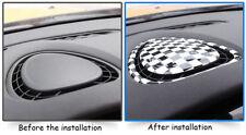 Checkered UK Flag Interior Front Air Condition Cover For MINI Cooper F54 F55 F56
