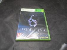 Microsoft Xbox 360 Game Resident Evil 6 New Sealed Spanish Espana Version