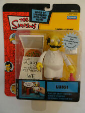 The Simpsons World of Springfield Figurine Série 14 Luigi 2003 Playmates